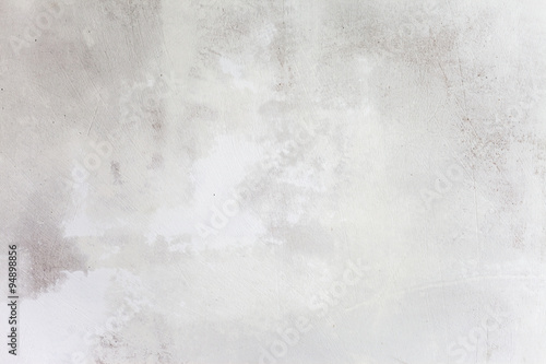 Papiers peints Beton Grungy White Concrete Wall Background