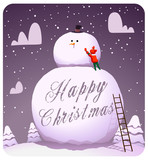 Happy_christmas_muñeco_de_nieve