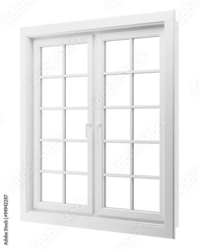 window isolated on white background - 94942287