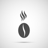 Fototapety Coffee vector design. Bean icon