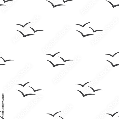Illustration of Seagull - 95012658