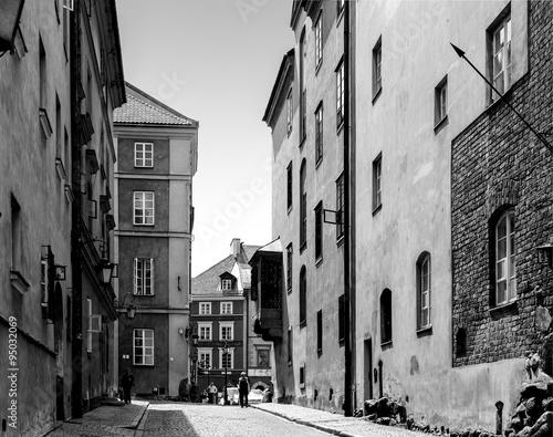 Warsaw Old Town Street - 95032069