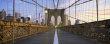 Fototapety Panoramic view of Brooklyn Bridge