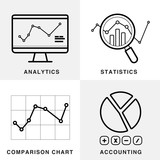 Graph icons