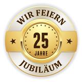Goldener 25 Jahre Jubiläum Siegel - 95152006