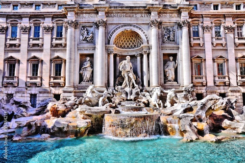 Wall mural Trevi Fountain, Rome