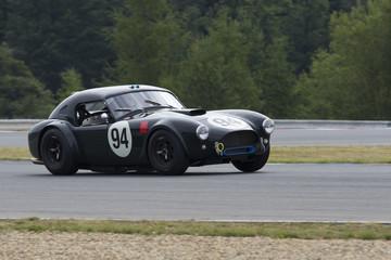 photo historic car from Masaryk circuit Brno