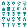 Winner Victory Icon Set