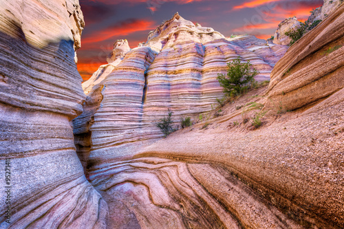 Fototapeta Tent Rocks Canyon at Sunrise