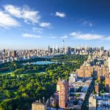 Central Park aerial view, Manhattan, New York; - 95278625