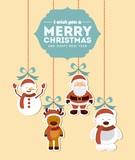 šťastné veselé vánoce