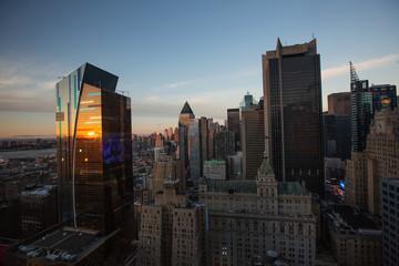Panoramę Nowego Jorku