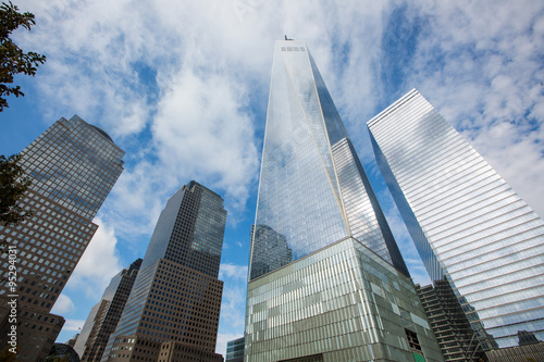 Foto op Aluminium New York New York City Skyline