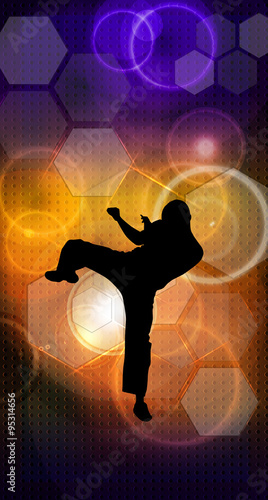 Fototapeta Martial arts