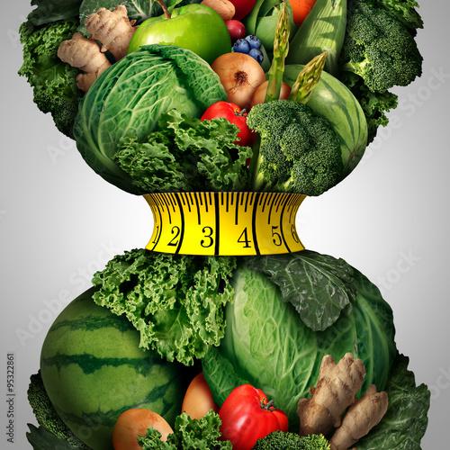 Fototapeta Healthy Weight Loss Diet