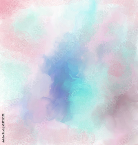 Poster background delicate pastel color haze blurred