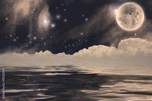Naklejka Fanastic Moon