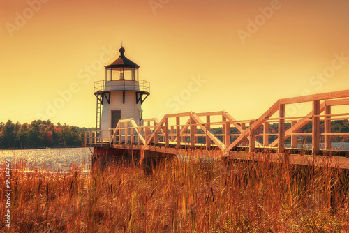 Doubling Point Lighthouse in New England - 95342461