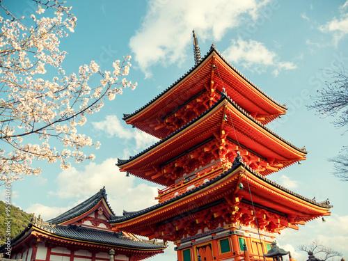 Deurstickers Kyoto Kyoto