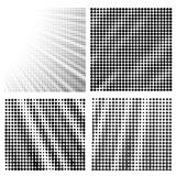Fototapety Set of  Halftone Patterns.