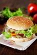 Fresh Homemade Burger / Vegetarian Burger