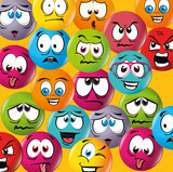 Cartoon emoticon graphic