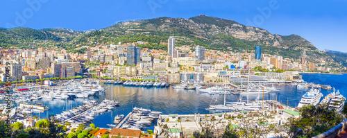 Fotobehang Formule 1 Panoramic view of Monaco