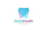 Dent Logo design vector. Dental clinic Logotype concept - 95514611
