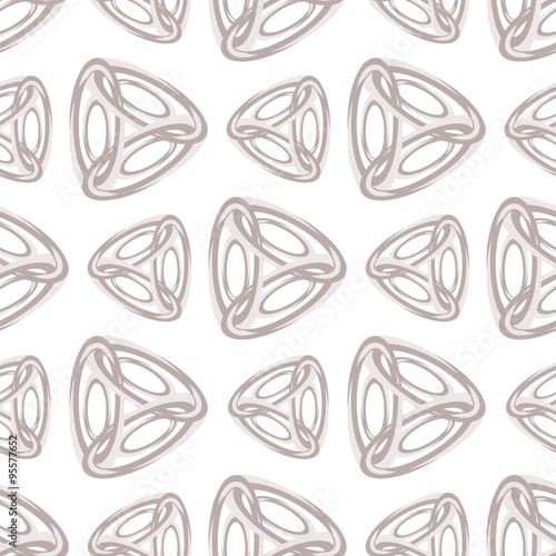 Abstract diamond seamless pattern