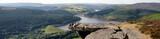 Derbyshire Peak District, peaceful countryside landscape