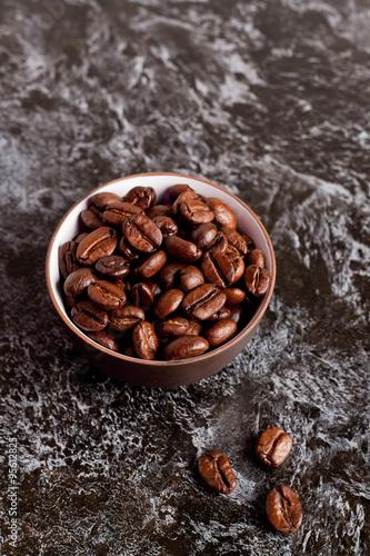 Papiers peints Café en grains coffee beans in a bowl