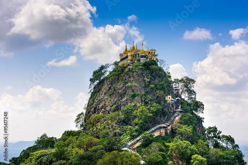 Poster Mt. Popa, Myanmar