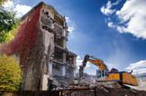 Demolition of buildings in urban