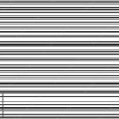 Comic horizontal speed lines background - 95634002