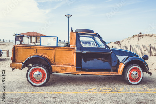 citroen 2cv pick up Poster