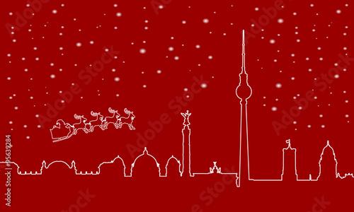 Weihnachtskarten Berlin.Gamesageddon Weihnachtliche Landschaft Mit Rentier In Blau Gold
