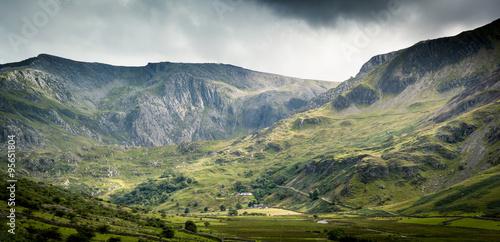 Poster Snowdonia scene