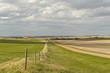 small village of Canadian Prairies in Saskatchewan