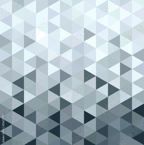 trojwymiarowa-geometria-trojkata-z-metalu-srebrnego