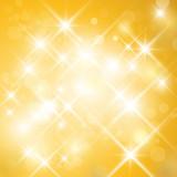 Fototapety Vector glittering sparkling stars