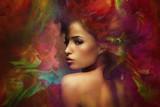 Fototapety fantasy woman sensation