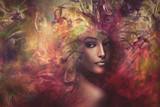 fantasy woman composite