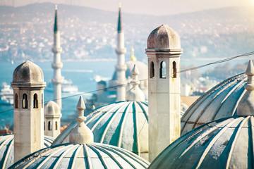 Piękny Meczet w Stambule, Turcja