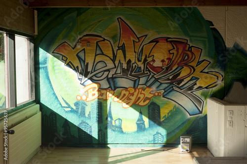 graffiti decoration Poster