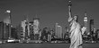 Obrazy na płótnie, fototapety, zdjęcia, fotoobrazy drukowane : tourism concept new york city with statue liberty