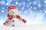 Fototapety Happy snowman