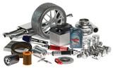 Fototapety set of Car parts