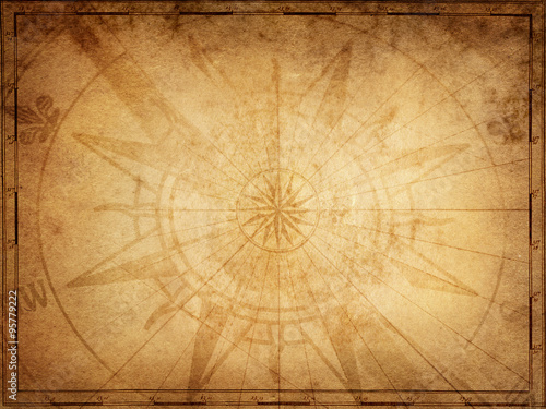Keuken foto achterwand Schip Pirate and nautical theme grunge background