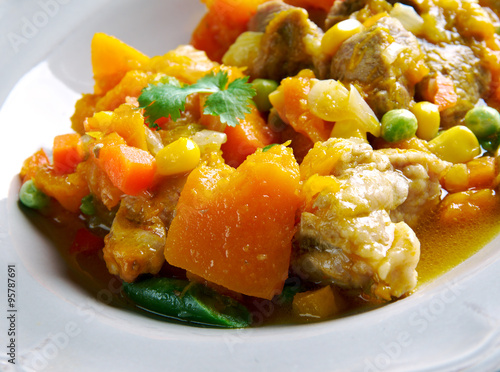 "Pumpkin pork stew"" Stock photo and royalty-free images on Fotolia ..."
