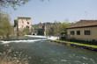 ������, ������: Visconteo bridge at Borghetto sul Mincio Veneto Italy